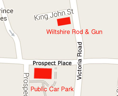 Wiltshire Rod & Gun Ltd Map